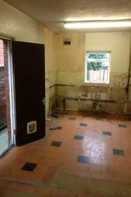 Old kitchen removed!